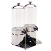 Side by Side 1.8 Gal Cold Beverage Dispenser