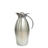 Brushed Carafe, Stainless Interior