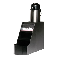 1 Station Airpot Stand with Condiment Trays