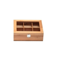 Bamboo Tea Box - Small
