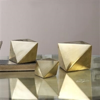 Rhombus Champagne Accents