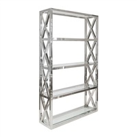 Clifton Silver Shelving