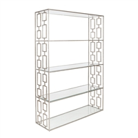 Hays Silver Shelving