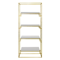 Shadow White Etagere