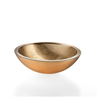 Gold Leaf Vessel Sink