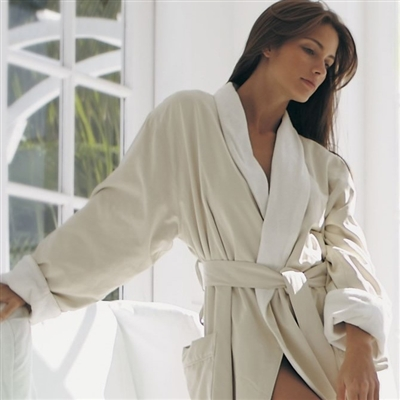 Microfiber Shawl Collar Robe