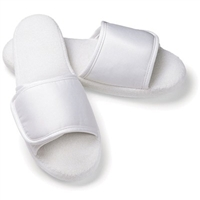 Microfiber Open Toe Slippers