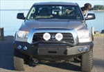 Road Armor Stealth Base Front Winch Bumper with Pre-Runner Guard Raw, RA-99084Z