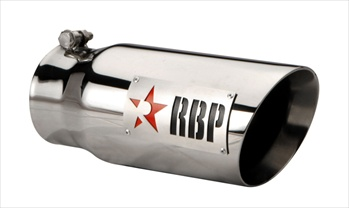 "RBP TIP 4"" TO 5"" X 12""L SS DOUBLE WALL TIP, TWO TONE LOGO AND RED STAR RBP-45122-7R"