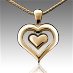 Eternity Heart Cremation Pendant