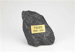 Pet Memorial Rock Urn Medium