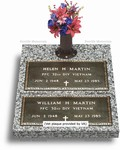Double Depth Bronze Veteran Headstones (VET-4)