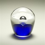 Enduring Fountain Glass Cremation Keepsake