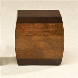 Bainbridge Walnut Wood Urn