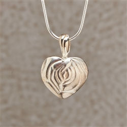 Full Rose Locket Jewelry Pendant