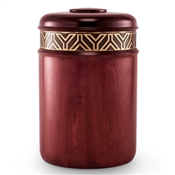Rapture Wood Urn