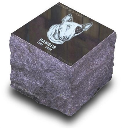 Solid Granite Cremation Marker