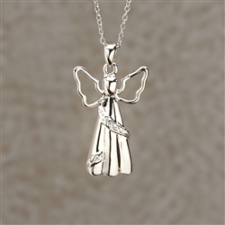 Angel Cremation Pendant