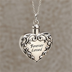 Forever Loved Cremation Pendant