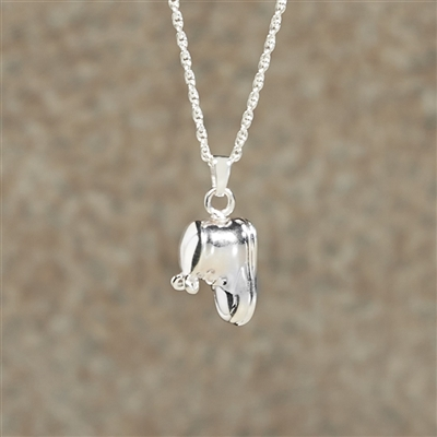 Baby Bootie Cremation Pendant