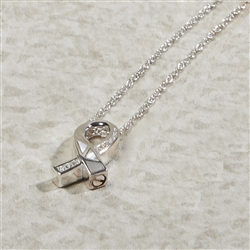 Awareness Ribbon Cremation Pendant