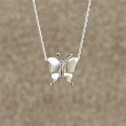 Petite Butterfly Cremation Pendant