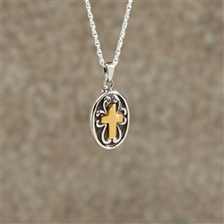 Cross Cremation Pendant