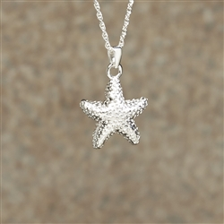 Starfish Cremation Pendant