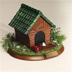 Backyard Dog House Pet Urn