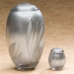 Crystal Bloom Urn
