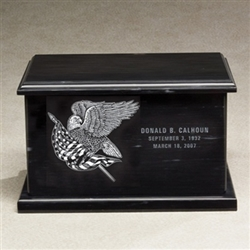 Evermore Rectangle Marble Urn