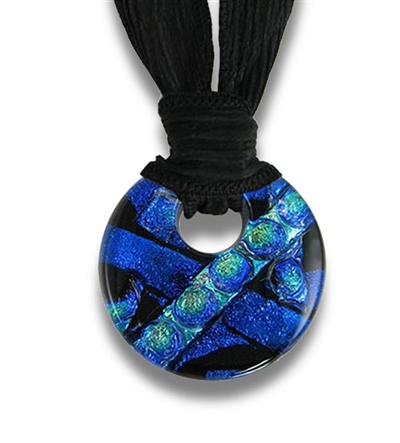 Embrace Glass Cremation Pendant