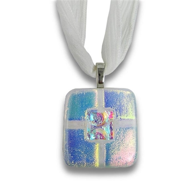 Eternity Glass Cremation Pendant