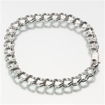 Sterling Silver Cremation Jewelry Bracelet