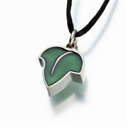 Enameled Pewter Green