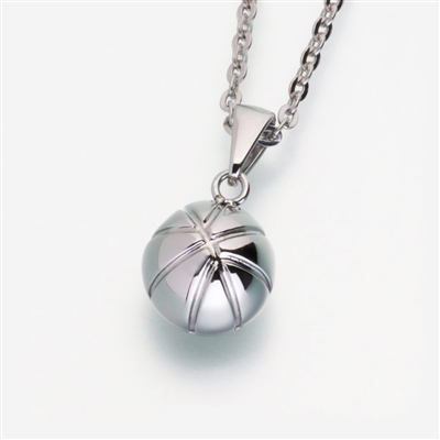 stainless steel basketball Cremation Jewelry