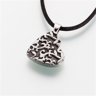 Tilted Heart Pendant