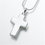 Large Cross Cremation Pendant