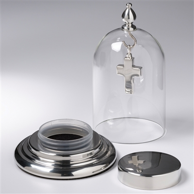 Dome Display with Fillable Base (Pendant not included)