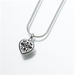 Small Filigree Heart Pendant