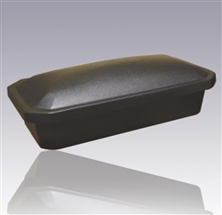 Economy Pet Casket in Black