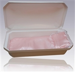 Standard Pet Casket in White/Pink