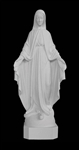"24"" Our Lady of Grace Marble Statue"