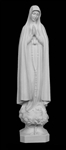"39"" Our Lady of Fatima Marble Statue"