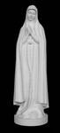 "33"" Our Lady of Fatima Marble Statue"