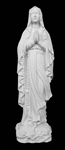 "16"" Our Lady of Fatima Marble Statue"