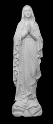 "20"" Our Lady of Fatima Marble Statue"