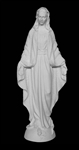 "18"" Our Lady of Grace Marble Statue"