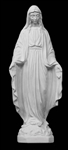 "12"" Our Lady of Grace Marble Statue"