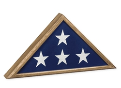Veteran Flag Case (Oak)